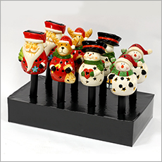 hw9842 solar powered christmas pal pathway lights