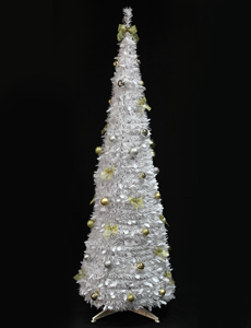 Pop Up Trees - 6ft Black Pop Up Christmas Tree